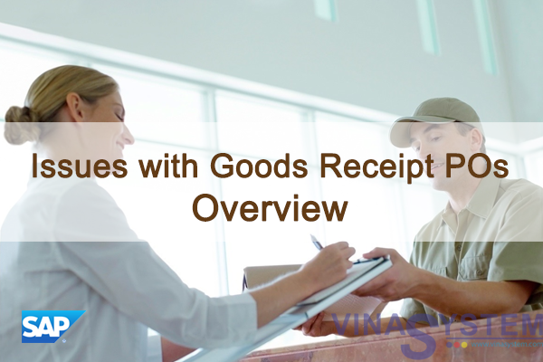Issues with Goods Receipt POs in SAP Business One - Issues with GRPOs Overview