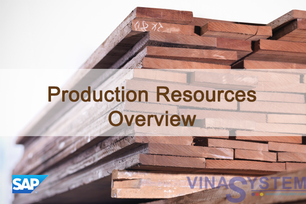 Production Resources in SAP Business One - Production Resources Overview