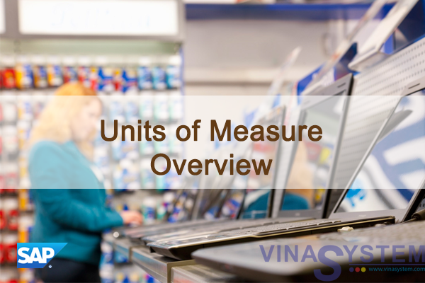 Units of Measure in SAP Business One - Units of Measure Overview