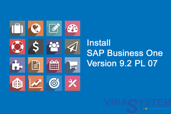 Install SAP Business One Version 9.2 PL 07