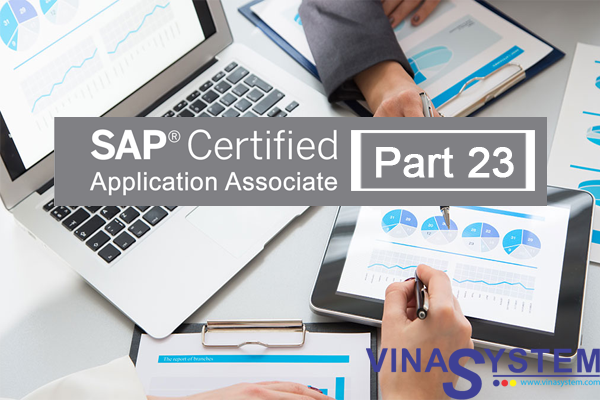 SAP Certified Application Associate - SAP Business One Release (Part 23)