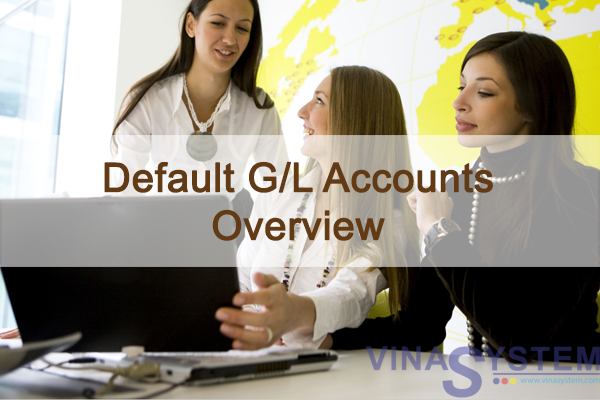Default G/L Accounts in SAP Business One