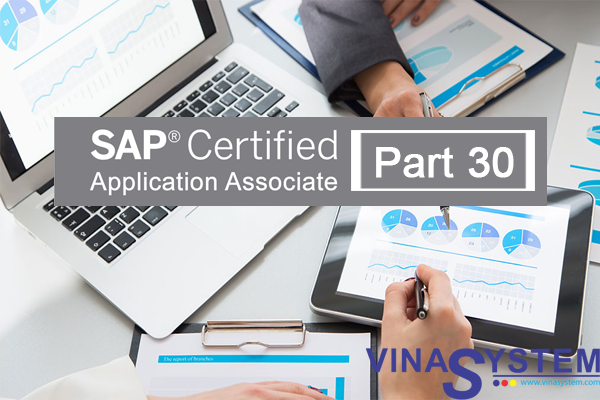 SAP Certified Application Associate - SAP Business One Release (Part 30)