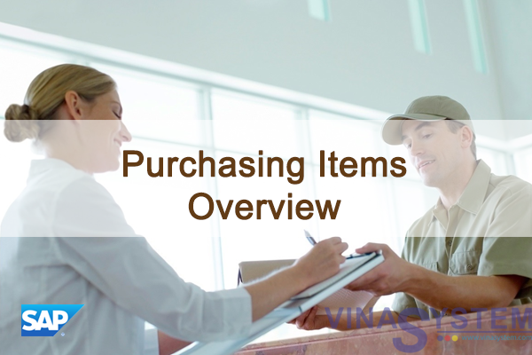 Purchasing Items in SAP Business One - Purchasing Items Overview