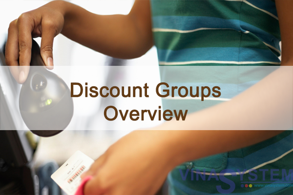 Discount Groups in SAP Business One - Discount  Groups Over View