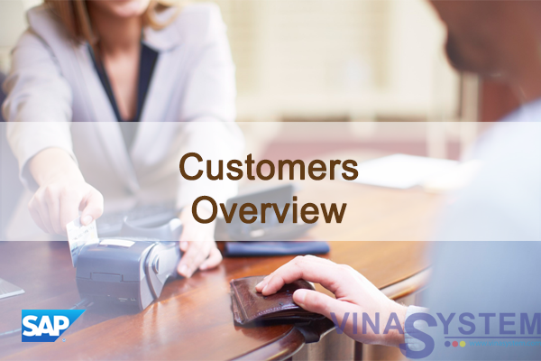Customers and Customer Groups in SAP Business One - Customers Overview
