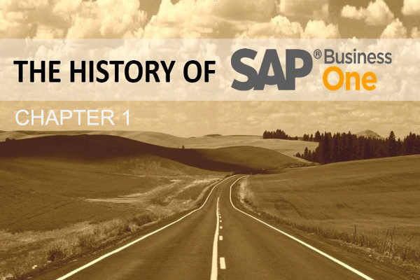SAP Business One: From Idea to Product
