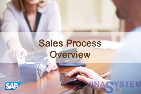 Sales Process in SAP Business One - Sales Process Overview