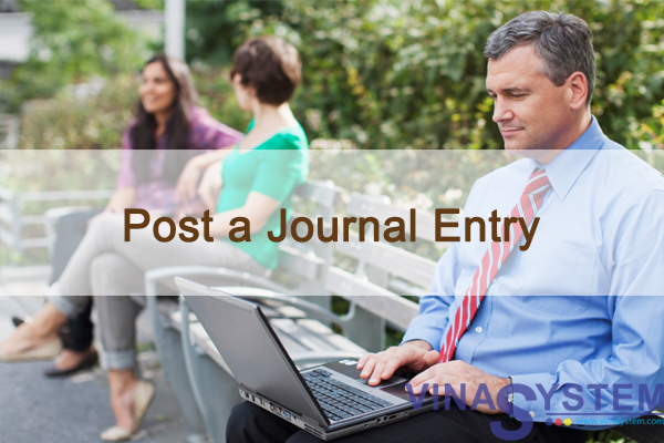 Post a Journal Entry in SAP Business One